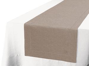 BLANC CERISE - drap housse - percale (80 fils/cm²) - uni - Chemin De Table