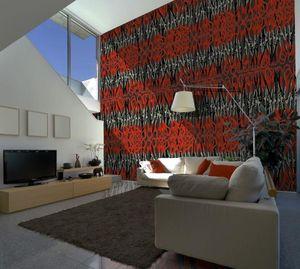 IN CREATION - ciseaux rouges - Papier Peint Panoramique