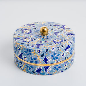 EMAUX DE LONGWY 1798/FRAGRANCE - tradition - Coupe À Caviar