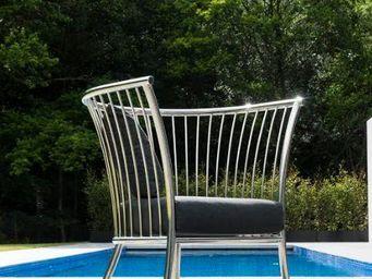 Alexander Rose - cordial lounge inox - Fauteuil De Jardin