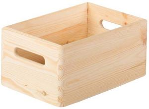 jardindeco - caisse en bois de rangement taille 1 - Caisse De Rangement