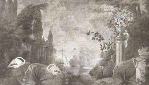 Ananbô - le jardin de portobelleo - Papier Peint Panoramique