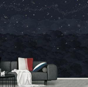 ISIDORE LEROY - __cosmos nuit - Papier Peint