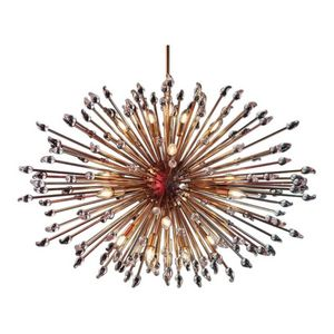 ALAN MIZRAHI LIGHTING - ka1844 large brass sputnik - Lustre