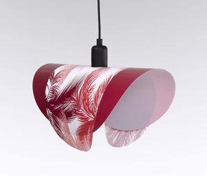 SIXFOISQUATRE - jungl rose-rouge - Suspension