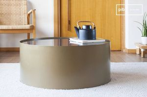 Tra Pib -  - Table Basse Ronde