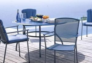 Mobili Marino -  - Table De Jardin Ronde