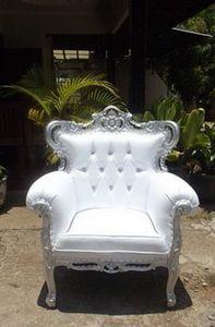 DECO PRIVE - fauteuil rococo prince new - Autres Fauteuils