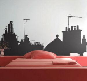 PARISTIC - sur les toits vue a small - Sticker