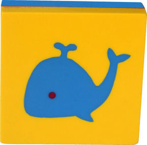 L'AGAPE - bouton de tiroir baleine - Bouton De Meuble Enfant