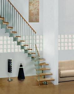 SK-SYSTEME -  - Escalier Un Quart Tournant