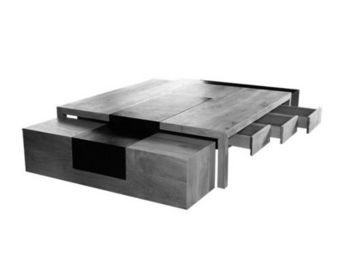 Anegil -  - Table Basse � Tiroirs