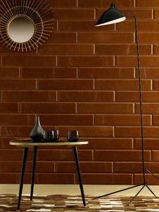 CUIR AU CARRÉ - ambiance loft - Revêtement Mural