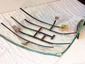 Atelier 1..2..3 vitrail -  - Assiette Décorative