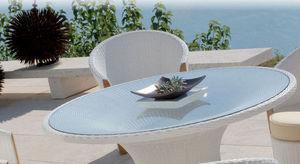 MAZUVO -  - Table De Jardin Ronde