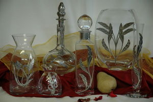 Les Etains Des Potstainiers Hutois -  - Vase À Fleurs