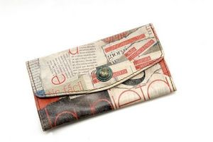CATHERINE PARRA - portefeuille imprimé - Portefeuille