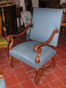 Antiquites Le Vieux Moulin - paire de fauteuils xviii ème - Fauteuil