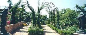 Claire Pernod Fantini - roseraie en tonnelle - Jardin Paysager