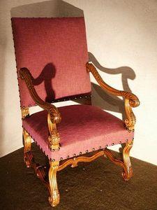 Au Réveil du Temps - fauteuil louis xiii - Fauteuil
