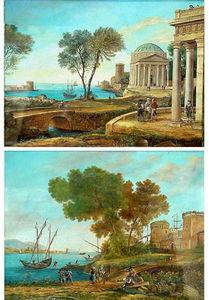 Dario Ghio Antiquites -  - Gouache
