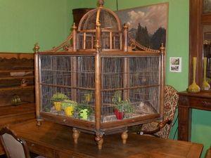 Antiques Forain -  - Cage À Oiseaux