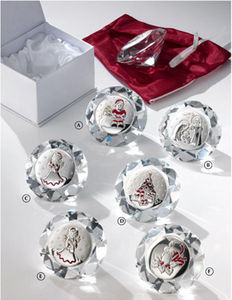 INTERNATIONAL GIFT_LARMS GROUP - diamante cristallo e argento - Bonbonnière Mariage