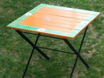 Atelier Christine -  - Table D'appoint De Jardin
