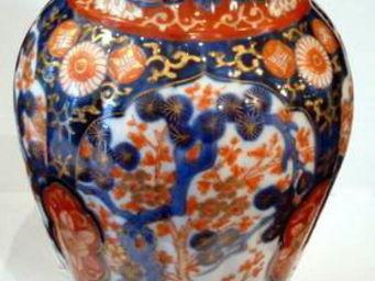 ANTIQUITES PHYLLIS FRIEDMAN - vase imari - Vase Décoratif