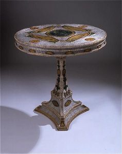 ANTOINE CHENEVIERE FINE ARTS - venetian circular centre table - Guéridon
