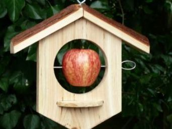 Wildlife world - apple house with platform (oak) - Mangeoire À Oiseaux
