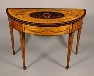 Anthony James & Son - occasional - Console Demi Lune