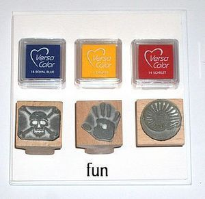 The English Stamp Company - fun stamp kit - Tampon