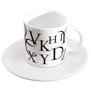 Freud - script espresso cup & saucer - Tasse À Café