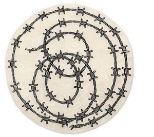 NODUS - barbed wire - Tapis Contemporain