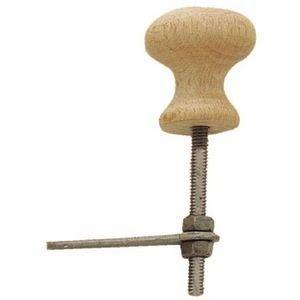 FERRURES ET PATINES - bouton clavette table de nuit - Bouton Clavette