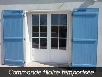 Wimove - wibat linteau recoupable commande filaire temporis - Automatisme Et Motorisation Pour Volet