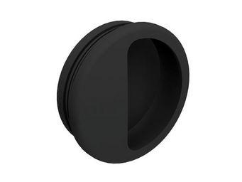 Wimove - poignee cuvette ronde diametre 50 mm - plastique n - Poignée Cuvette