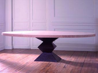 La maison de Brune - koni - Table De Repas Ovale