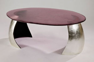 FRANCK EVENNOU - abysses - Table Basse Ovale