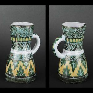 Expertissim - pichet en c�ramique sign� allix vers 1960 - Pichet