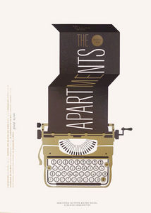 Dezzig - affiche s�rigraphie the apartments - Affiche