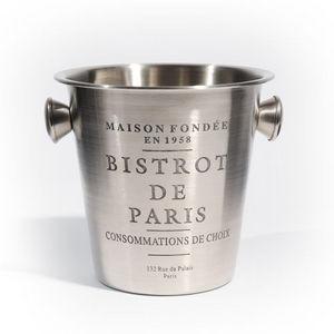 Maisons du monde - seau à champagne bistrot paris - Seau À Champagne