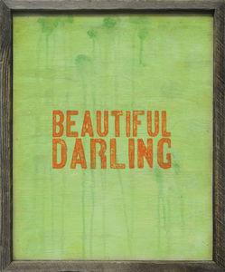 Sugarboo Designs - art print - beautiful darling - Tableau D�coratif