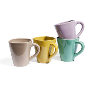 Maisons du monde - assortiment de 8 mugs garigue - Mug