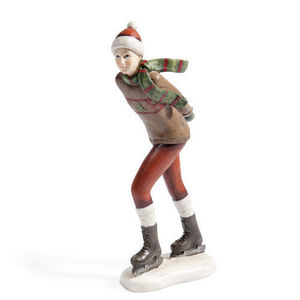 MAISONS DU MONDE - patineuse mégève - Figurine