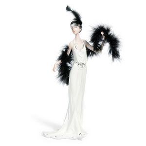 MAISONS DU MONDE - statuette lady canelle - Figurine