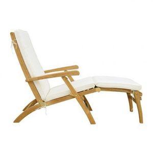 Maisons du monde - matelas chaise longue oléron - Coussin De Siège De Jardin