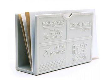 Manta Design - porte-enveloppes design grey - Bac � Courrier