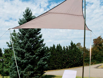 WILSA GARDEN - voile d'ombrage triangle 300x300x230cm - Voile D'ombrage